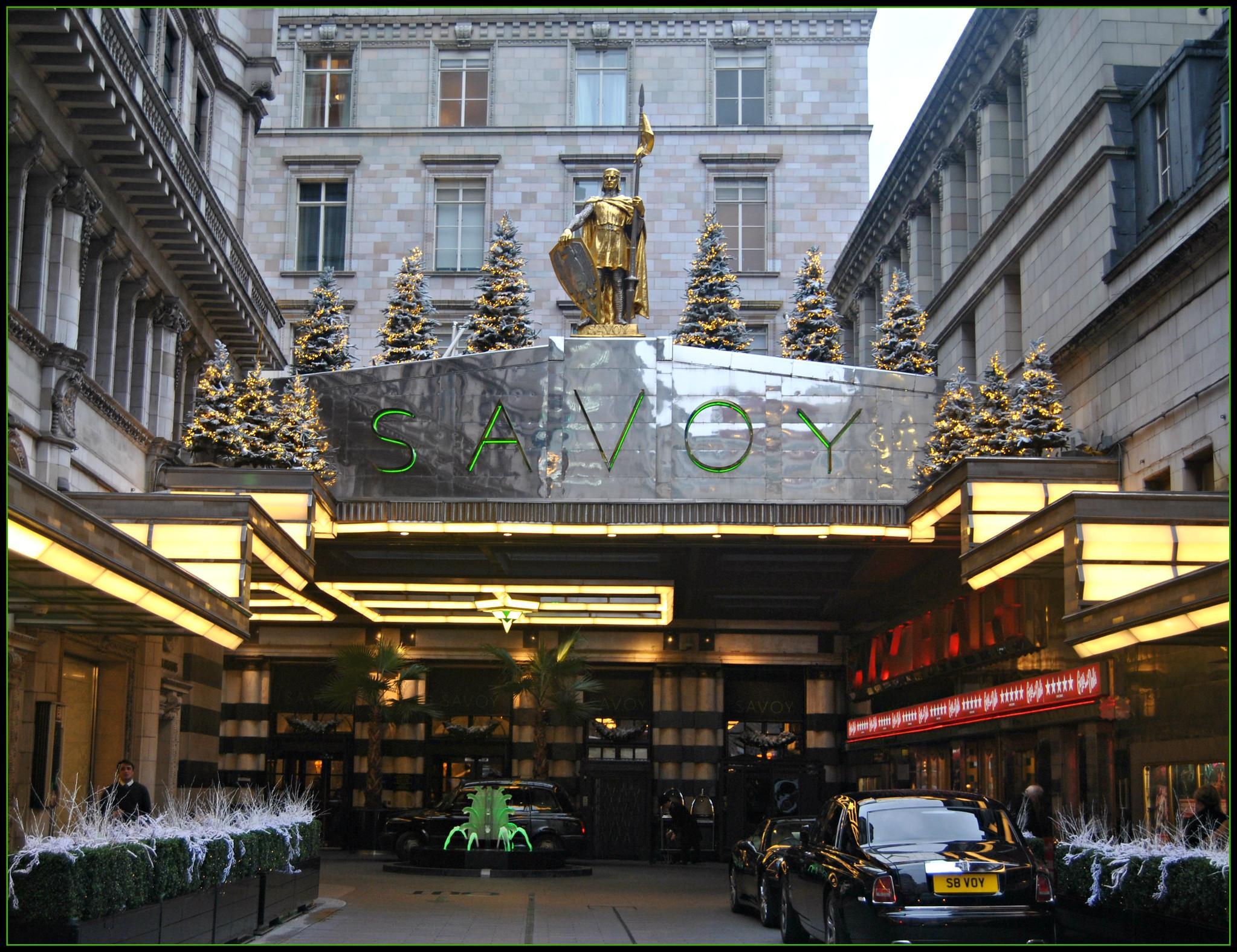 The Savoy Hotel, London